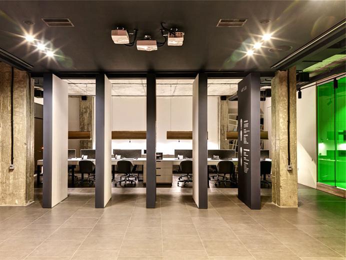 LETLED Office in Kiev - #office, #interior,