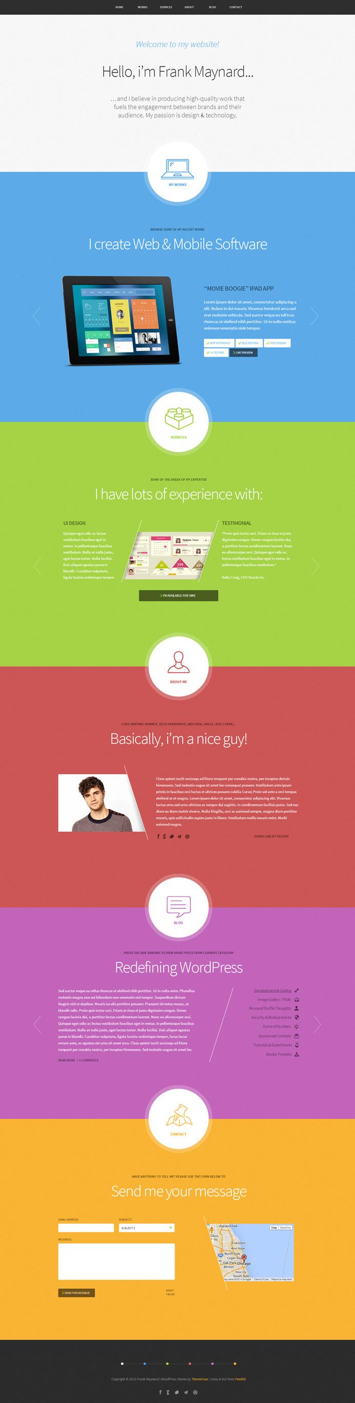 colors, web design, layout, concept, simple, website #design #simple #website #colors #concept #layout #web