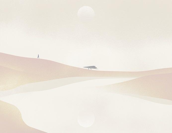 space - Heather Penn #illustration #space