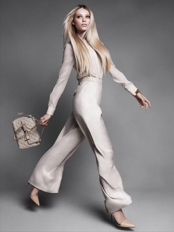 Vika Falileeva by Victor Demarchelier for Harpers Bazaar US #fashion #beauty