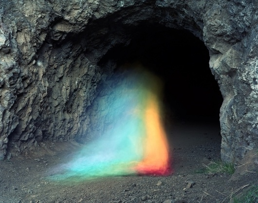 Bronson Caves by Brice Bischoff | TRIANGULATION BLOG #photo #cave #color #colors #magic #rainbow #light