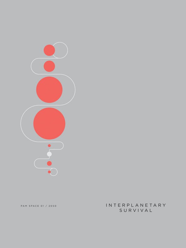 All sizes | Interplanetary | Flickr Photo Sharing! #vector #poster #modern
