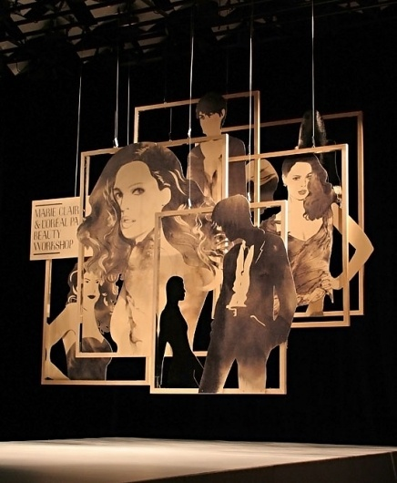 LMFF Set Design 2011 | Qualia Creative - Brand Identity and Graphic Design, Melbourne #illustration #design #graphic