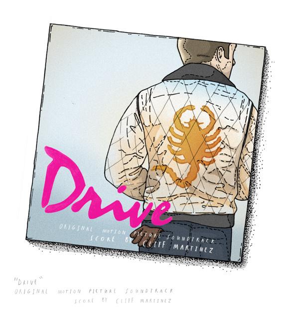 Music Collection by Ian Carrington #ian #draw #illustrator #carrington #illustration #drive #drawing