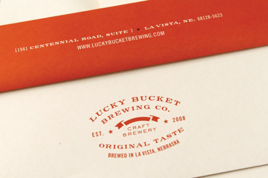 Lucky Bucket Brewing Co. #logo #brewing #stationary