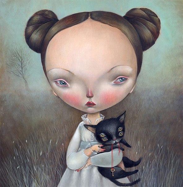 Paintings by Dilka Bear #illustration #art #paintings