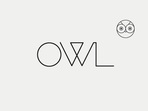new stiletto work: owl optics #fashion #logo