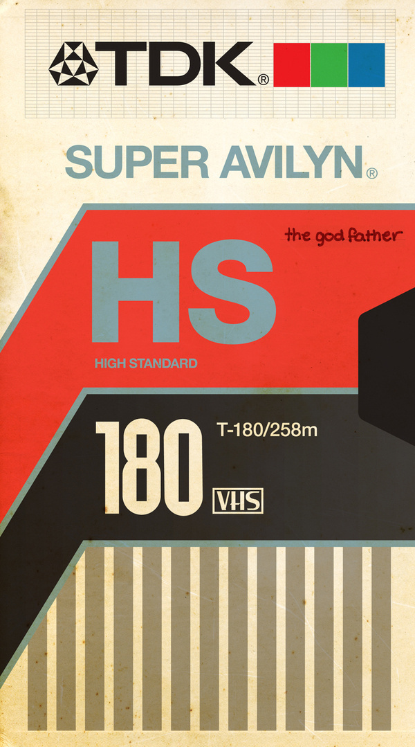 my 80's perception of film posters on the Behance Network #movie #retro #vhs #poster #film #80s