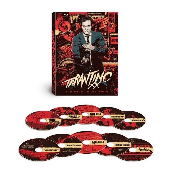 Amazon.com: Tarantino XX 8 Film Collection [Blu ray] (Pulp Fiction/Inglourious Basterds/Reservoir Dogs/Kill Bill Vol. 1/Kill Bill Vol. 2/Jac #xx #tarantino