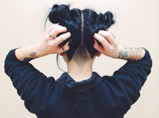 MINI PENNY: 30DFC Day 14 // Hairspiration #ink #girl #hair #tattoo #style