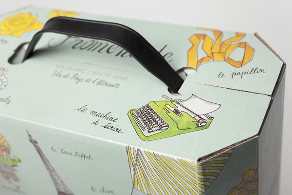 Redesign Promenade www.olssonbarbieri.com #package #boxed #wine