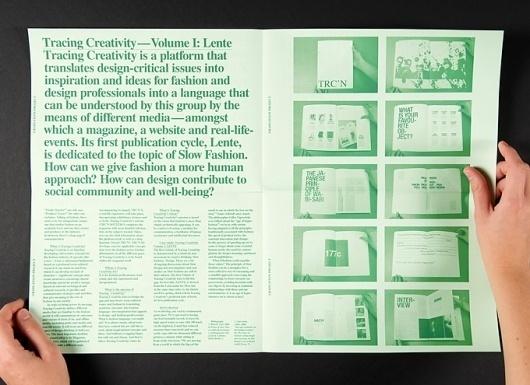 Tracing Creativity | Isabelle Vaverka #print #booklet #paper #publication