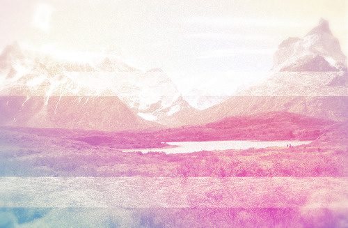 """""""Default Mode Network"""" #2012 #color #landside #artwork #default #glitch"""