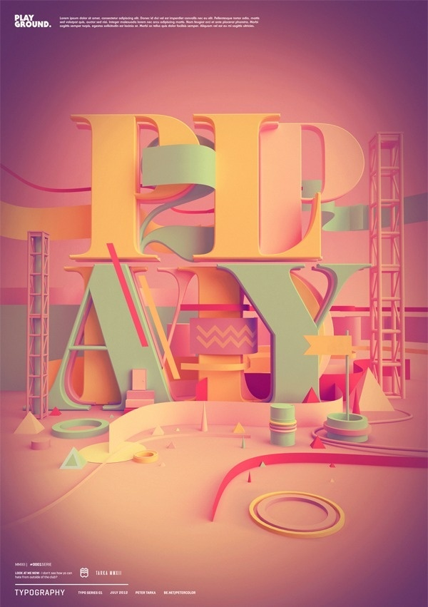 Typography 04. on the Behance Network