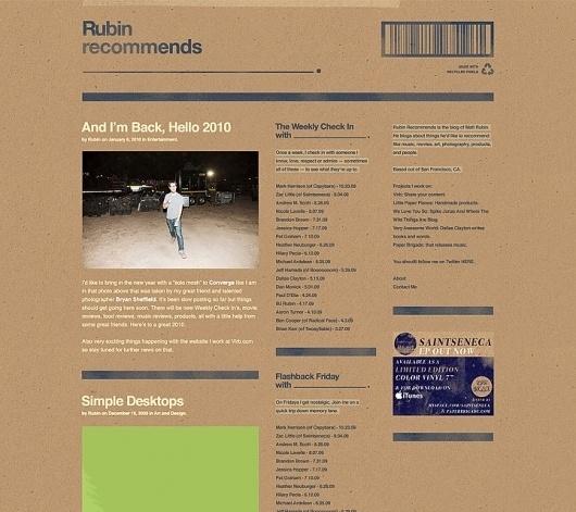 Ryan Sims — Etc. #design #web #blog