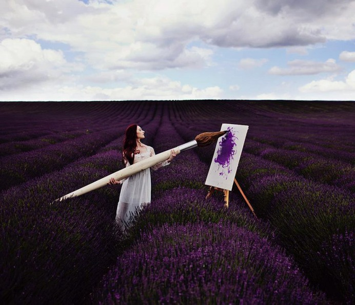 Gorgeous Beauty and Lifestyle Portraits by Alexandra Cameron