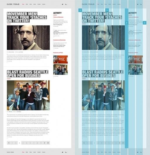 Sam Dallyn - Blast Radius - Website #webdesign