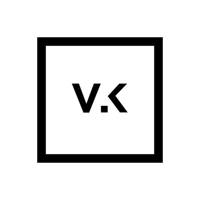 Vinesh.K Branding #swiss #branding #self #black #clean #brand #square #minimal #promo #logo #minimalist