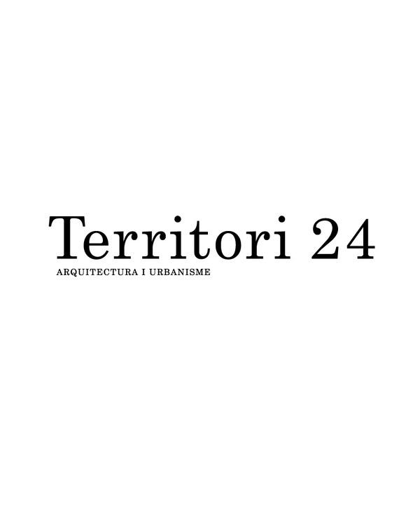 Territori24 #logotype #estudi #design #graphic #torras #black #territori24 #conrad #architecture #barcelona #typography