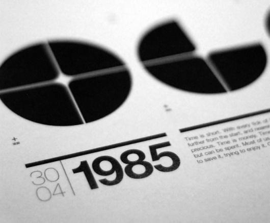 1985.2 | Poster #swiss #design #graphic #minimalism #poster #typography