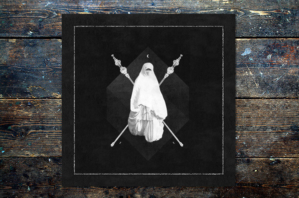 Young Magic 'Night In The Ocean' Leif Podhajský #album #death #white #black