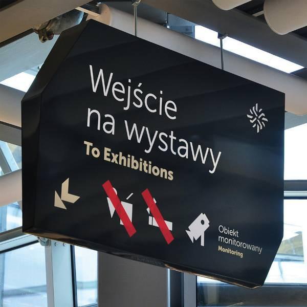 Wayfinding | Signage | Sign | Design 哥白尼科学中心-视觉信息系统