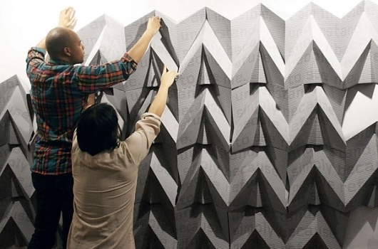mapoffice2.jpg (600×397) #sculpture #illusion #poster #typography