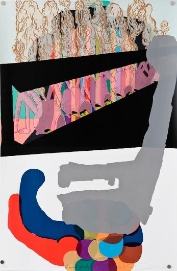 Seripop - Yannick Desranleau and Chloe Lum - Escapee print series #seripop #print #screen #illustration #drawn #hand