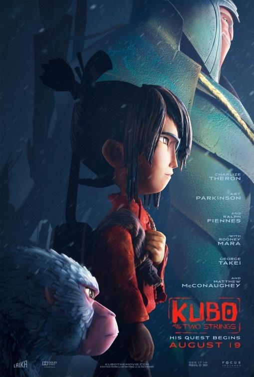 KUBO animated movie poster