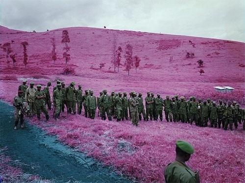 Richard Mosse - BOOOOOOOM! - CREATE * INSPIRE * COMMUNITY * ART * DESIGN * MUSIC * FILM * PHOTO * PROJECTS #kodak #mosse #congo #richard #film #infrared
