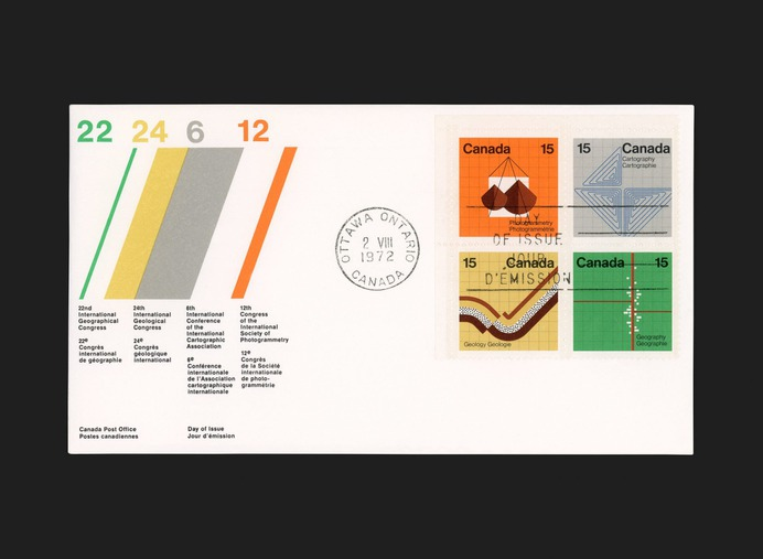Earth Sciences Stamps - Canada Modern