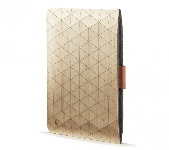 These geometric sleeves are the latest handcrafted wooden accessory created by the Portland-based brand Grovemade. #wooden #laptop #ipad #sleeve #grovemade #wood #geometrical