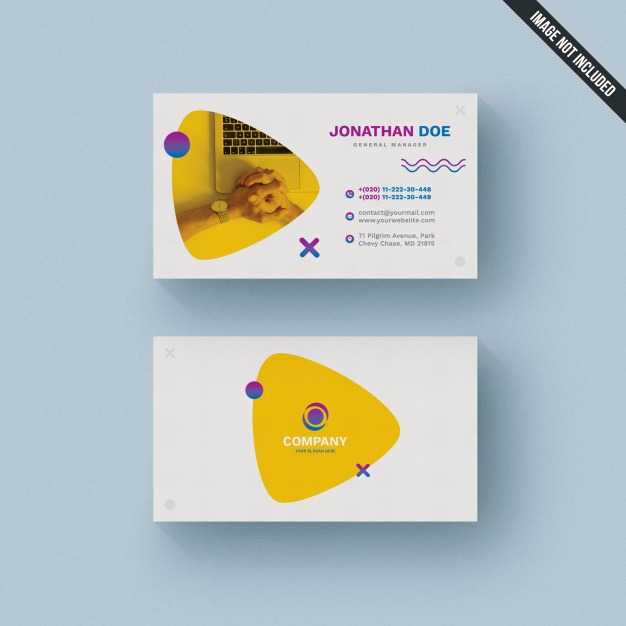Colorful business card template Premium Psd. See more inspiration related to Logo, Business card, Business, Abstract, Card, Template, Geometric, Office, Visiting card, Shapes, Presentation, Colorful, Stationery, Elegant, Corporate, Creative, Company, Abstract logo, Modern, Corporate identity, Branding, Visit card, Geometric shapes, Identity, Brand, Identity card, Business logo, Company logo, Logo template, Abstract shapes, Elegant logo, Brand identity, Visit and Visiting on Freepik.