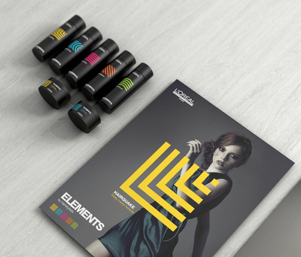 Lorealparis #packaging #label #silk #cosmetic #folder