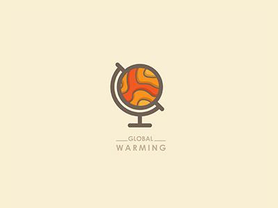 Globalwarming1 #mark #vector #branding #global #logo