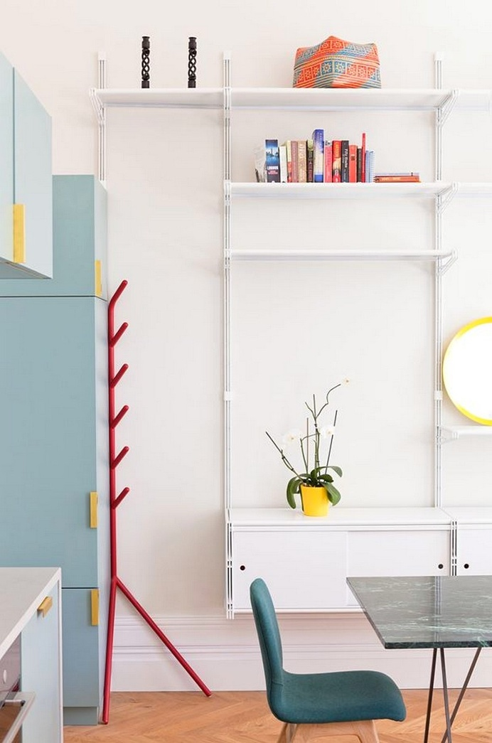 Westbourne Gardens Apartment by Nimtim Architects
