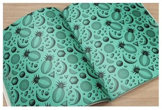 · Frappe magazine : www.joeandnathan.com #fruits #pattern