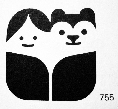 FFFFOUND! | SO MUCH PILEUP: Animal logos #logo #print #kid #bear