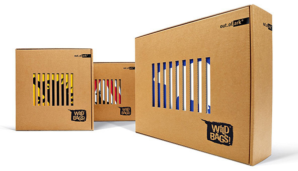 Wild Bags - Sustainable Packaging Design #packaging #design #graphic #3d