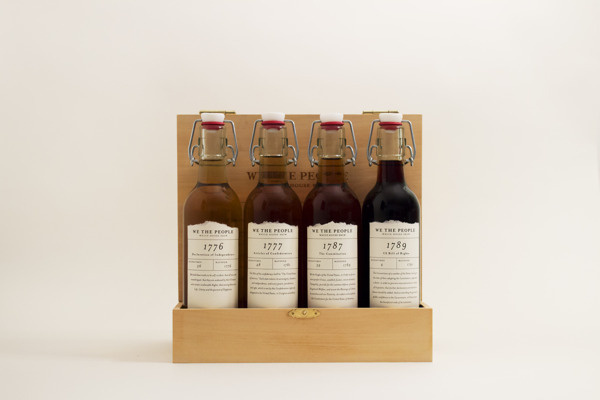 We the People, White House Brew on Behance #bottles