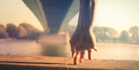 Short and Nice | Fubiz™ #bridge #photography #hand