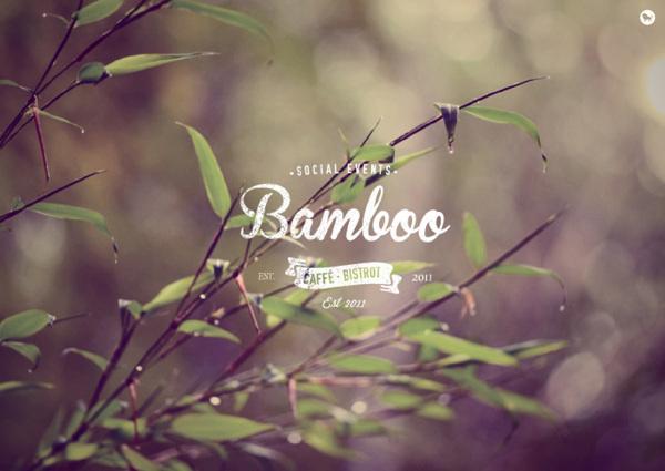 Bamboo Caffe #logotype #identity #branding