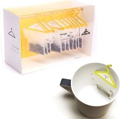 最富創意T-bag | BlackHK #packaging #design #hanger #tea #bag #cool