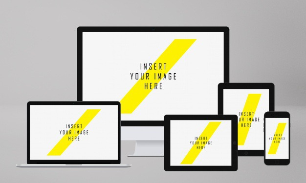 Realistic screens mock up Free Psd. See more inspiration related to Mockup, Technology, Template, Web, Website, Mock up, Templates, Website template, Screen, Mockups, Up, Web template, Realistic, Real, Web templates, Mock ups, Mock, Screens and Ups on Freepik.