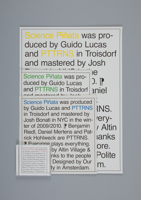 This is Our Polite Society #poster #typography