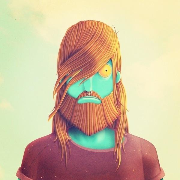 Hipstermonster on the Behance Network #design #character #hipstermonster #art