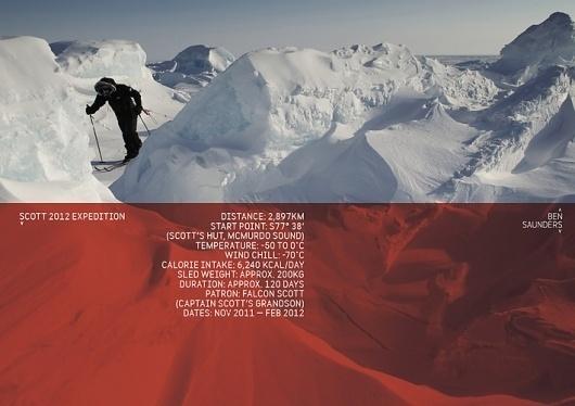 Ben Saunders identity « Studio8 Design