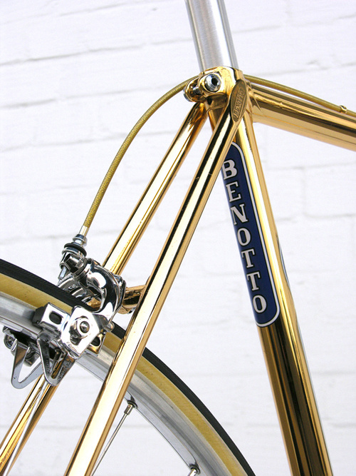 Dailymovement #frame #pimping #bicycle #bike #gold