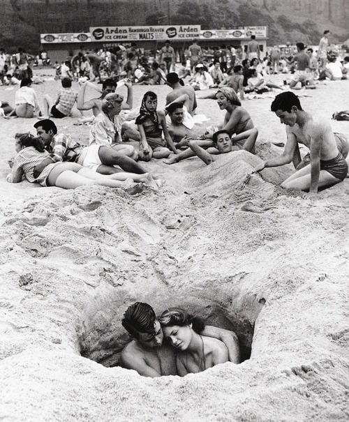 These Tings Take Time #white #hole #black #sand #couples #and #beach