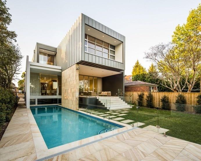 Modern Box House With Openings Inspiring Freedom in Sydney, Australia #sydney #architecture #modern